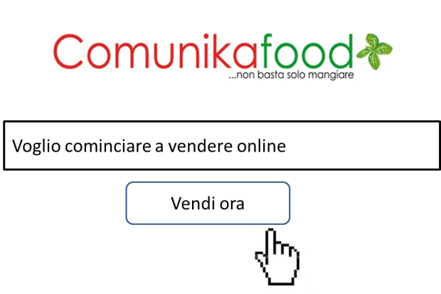 fare social media marketing online food